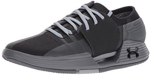 Under Armour Men's Speedform AMP 2.0 Sneaker, Black (003)/Graphite, 13