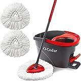 Best Wood Floor Mops - O-Cedar EasyWring Microfiber Spin Mop & Bucket Floor Review