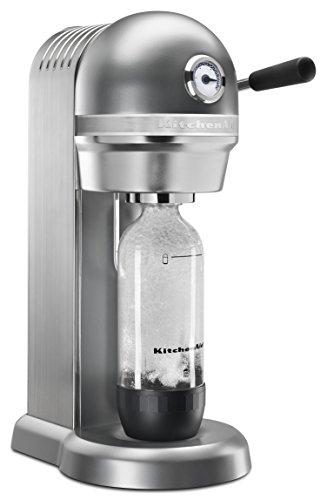 KitchenAid Sparkling Beverage Maker powered by SodaStream - Contour Silver, Contour Silver