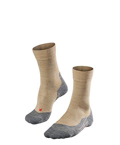 FALKE TK5 W So Chaussettes de randonnée Femme, Beige (Nature Melange 4100), 35-36 (UK 2.5-3.5 Ι US 5-6)