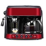 Semiautomático Combinación estadounidense bomba máquina de espresso goteo Cafetera un solo botón de operación fácil de usar WTZ012