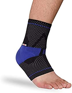 HealthyNeeds Marktop Ankle Support 1PC Safety Gym Running Protection Foot Bandage Elastic