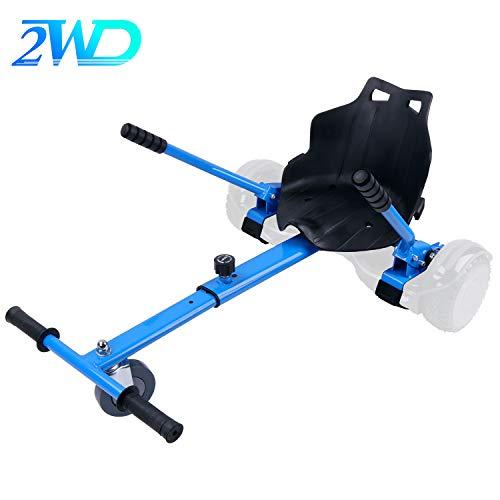 2WD Hoverkart para Hoverboard, Go-Kart Conversión Kit Patinete Eléctrico, Longitud Ajustable, Compatible...