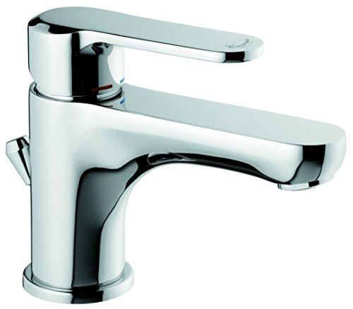 emmevi Miscelatore lavabo Serie Mini Nefer Cromato con Scarico Automatico 77033