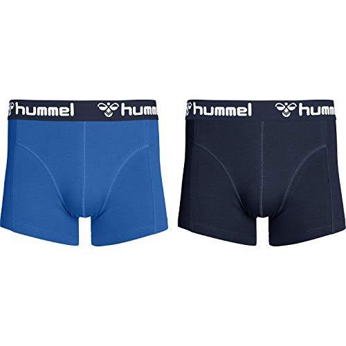 hummel Herren HMLMARS 2 Boxers, Nebulas Blau/Total Eclipse, XL