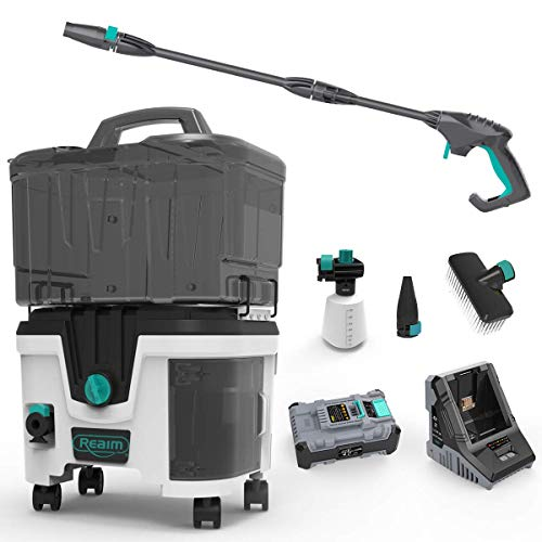 Realm D2 Plus Battery ion 40V 4.0 Ah 1200 PSI 1.5 GPM Cordless Pressure Washer