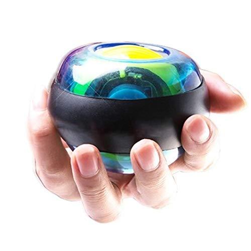 animes Equipo de Entrenamiento giroscópico de Powerball Magic Hand Trainer Destello Autostart Wrist Ball iluminada