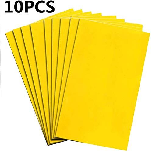 Zerobox gelb klebrige Fliegenfalle Home Yard Kleber Papier Fliegenfalle Fliegenfänger Insekten Mücken Fliegenfalle 10 Stück