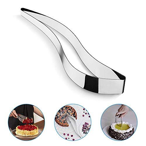 Aitsite Servidor de Pastel Cortadoras de Pastel Servidor Cake Server para Cake Pie e Pastry Pastel Gadget Cutter(Acero Inoxidable)