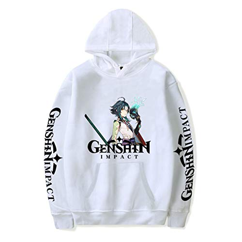 Uniform Genshin Impact Fashionable Pullover Sweatshirt Plus Size XXS-4XL for Men/Women Tracksuit