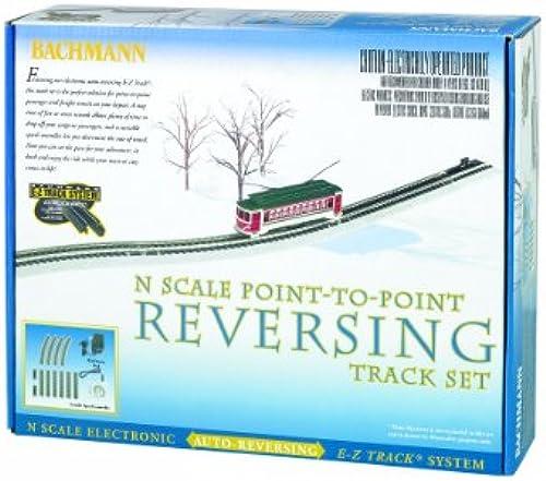 Bachmann Industries E-Z Track Nickel Silber E-Z Track Auto-reversing System N Ma ab