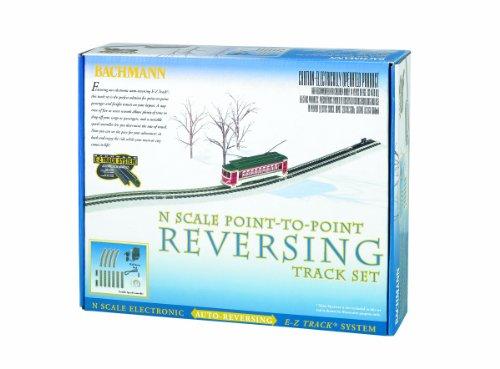 Bachmann Industries E-Z Track Nickel Silver E-Z Track Auto-Reversing System N Scale