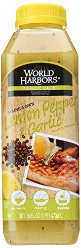 World Harbors Maine's Own Lemon Pepper & Garlic, 16 Oz