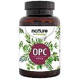 Integratore Estratto di semi d'uva OPC Resveratrolo Proantocianidine, 180 Capsule Vegan, 630 mg OPC Puro, Antiossidante Naturale per Circolazione Sanguigna Vene, Capillari & Microcircolo