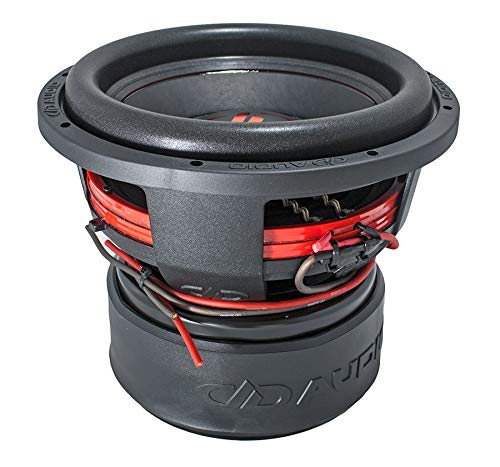 Subwoofer NEW DD812-D2 30cm 2x2Ω 6000 Watt spl Digital Designs Red Line dd 30 cm 32 12'