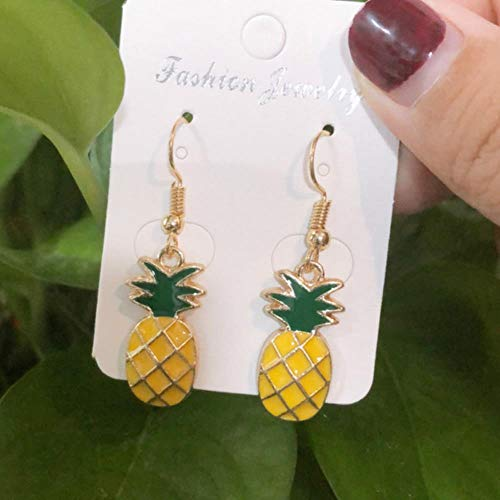 DAN Resin stereo lemon orange earrings long pendant fashion summer fruit jewelry for girls and teenagers gifts wholesale,8