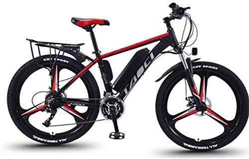 Bici electrica, Aleación de magnesio Integral de Llantas de 26 pulgadas bicicleta eléctrica de montaña E-Bici, 21Speed de velocidad variable bicicleta eléctrica con extraíble 13Ah Batería de iones d