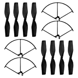 Original JJRC Grus Spare Parts 2 Set Propellers and 4pcs Propeller Guards for JJRC H71 Accessories