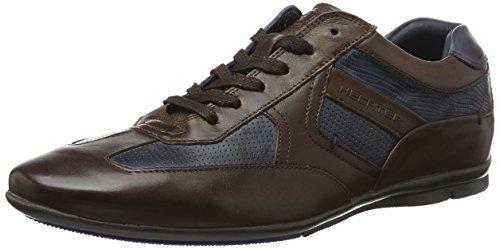 Daniel Hechter 821248031111, Basses Homme - Marron - Marron (Cognac/Dark Blue), 40 EU