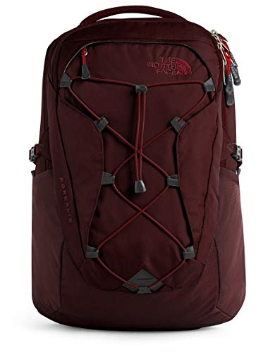 The North Face Women's Borealis Backpack, Deep Garnet Red/Cardinal Red, One Size