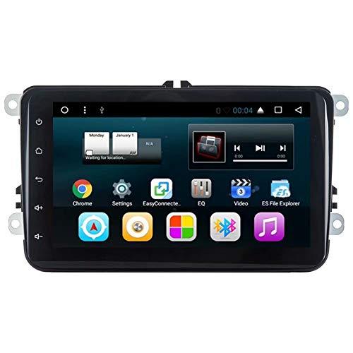 TOPNAVI Android 7.1 Quad Core Universel 8 Pouces 2Din Auto Radio pour VW Universel Voiture Stéréo GPS Navigation pour 1 Go de RAM WiFi 3G RDS Lien Miroir FM AM Bluetooth Audio Vidéo
