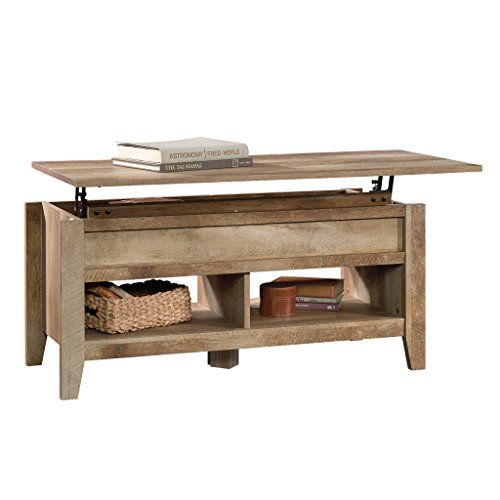 Sauder Dakota Pass Lift-Top Coffee Table | Craftsman Oak Finish | model