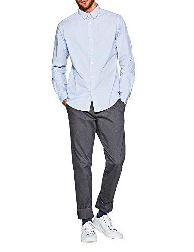 ESPRIT Herren 998EE2F800 Freizeithemd, 440/LIGHT Blue, XXL