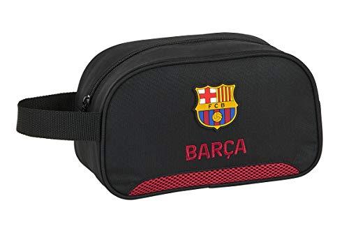 safta 812027248 Neceser, Bolsa de Aseo Adaptable a Carro FC Barcelona Layers Multicolor
