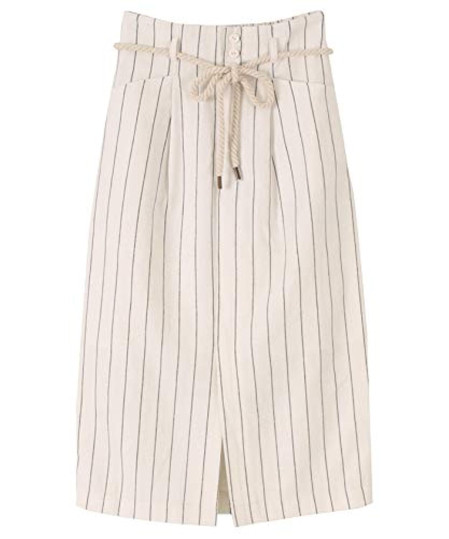 [ティティベイト] ストライプタイトスカート ATXN0160