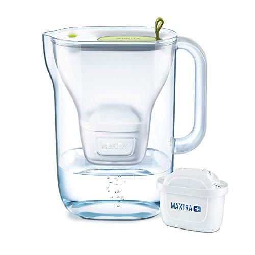 Brita 1029912 Wasserfilter Style (inkl. 1 Maxtra+ Filterkartusche) hellgrün