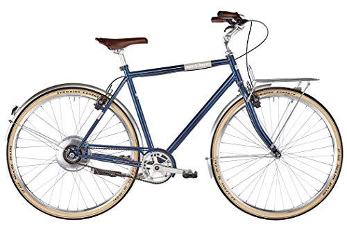 Ortler Bricktown 2019 E-Cityrad - Bicicleta eléctrica, color azul