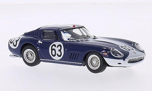 Ferrari 275 GTB 4, No.63, Spa, 1967, Modellauto, Fertigmodell, Best 1 43