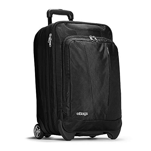 eBags Mother Lode 22 Inches Carry-On Roller (Solid Black)