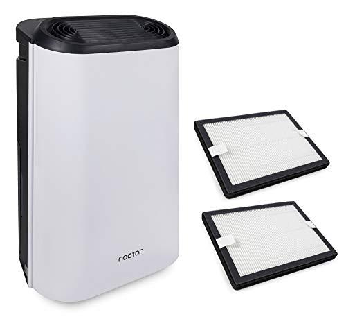 Luftentfeuchter und Luftreiniger Noaton DF 4214 HEPA + 2x HEPA Filter, Leistung bis zu 14 L/Tag, Luftdurchsatz 95 m3/h, bis 25 m2, HEPA Filter, Verbrauch <210 W, Wäschetrockner