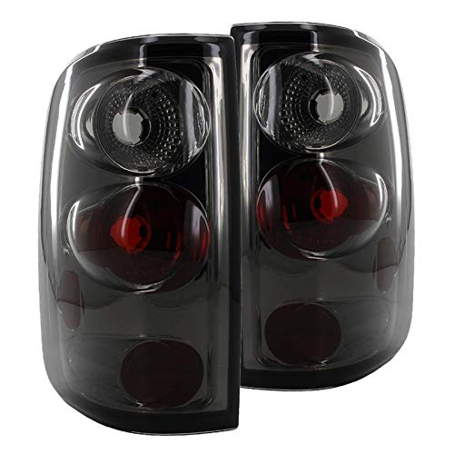 Spec-D Tuning for Ford F150 Smoke Tint Chrome Altezza Tail Lights