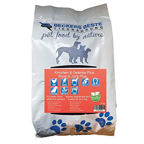 Beckers Beste - Trockenfutter Hund für Knochen & Gelenke Plus 5kg - Junghund, Adult & Senior - Hundefutter große und kleine Hunde-Rassen - glutenfrei