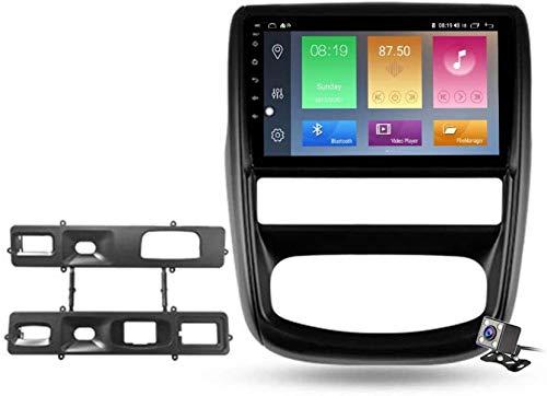Android 9.1 Estéreo GPS Navegación LCD de 9 Pulgadas para Renault Duster 1 2010-2015, Multimedia integrada y RDS FM Am AUTORADIO, Soporta OBD2 DSP/Control de Volante, 4 núcleo, 4G + WiFi: 1 + 16GB