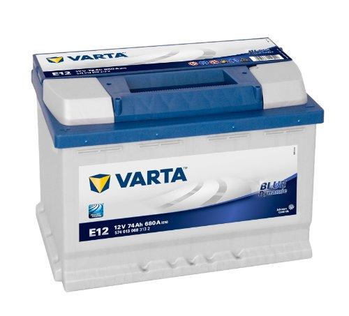 VARTA Blue Dynamic E12 Autobatterie 574 013 068 12V 74Ah