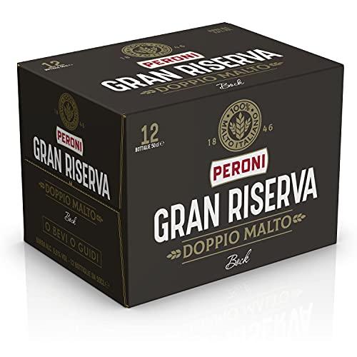 Peroni Birra Gran Riserva Doppio Malto - Cassa da 12 x 50cl (6 litri)