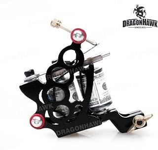 10 Wrap Coils Iron Tattoo Machine Liner Shader Gun
