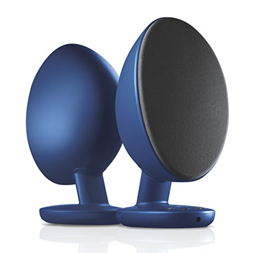 KEF EGG -PC Lautsprecher, Bluetooth Lautsprecher ( USB, Optical, Aux-in, Bluetooth ), blau