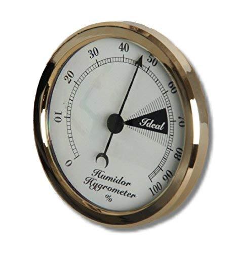 Front-Hygrometer Einbau 58-71mm inkl. Lifestyle-Ambiente Tastingbogen