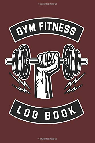 """Gym Fitness Log Book: Cool Boxing Log Books For Everyday use Gym Owner Boxer Instructor Notes exactly (6""""x9"""") Size Notebook to write in"""