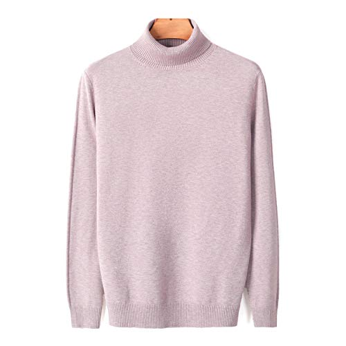 Nuevo Otoño Invierno Cálido Suéter De Cuello Alto para Hombre Moda Casual Cómodo Suéter Grueso Suéter...