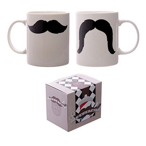 Mug Moustache en porcelaine