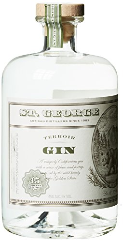 St. George Terroir Gin, 1er Pack (1 x 700 ml)