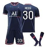 Weqenqing 21-22 New Paris Heimtrikot, Nummer 30 Trikot, Pariser Trikot, Herren-Fußball-T-Shirt,...