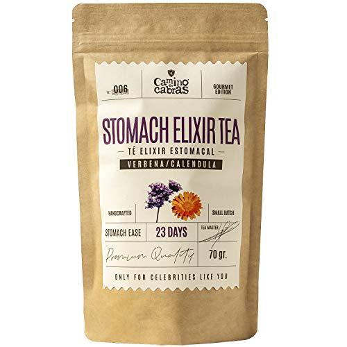 Nº006 STOMACH ELIXIR TEA - Elixir Estomacal - Té Gourmet de hierbas – FUENTE DE VITAMINAS Y MINERALES - Sin cafeína - 23 días - Ingredientes 100% Naturales - bolsa de 70 gr.