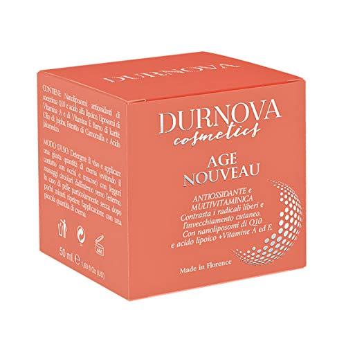 Crema antiedad Age Nouveau con una fuerte acción antioxidante e hidratante multivitaminas.