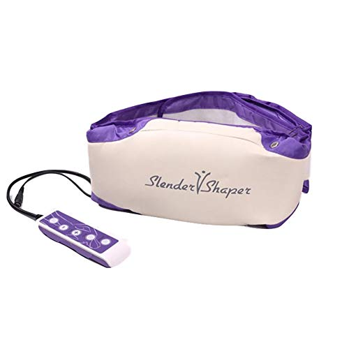 Electric Heat Vibration Waist Sauna Belt Slimming Belt Improve Blood Circulation Skin Firming for Weight Loss Detox